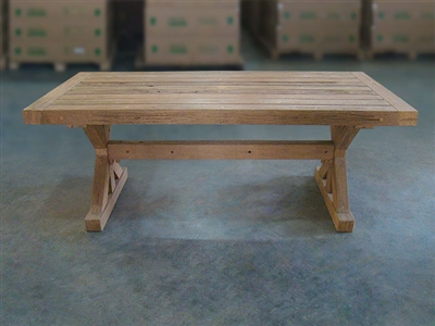 Elok Rectangle Teak Table 200x100cm