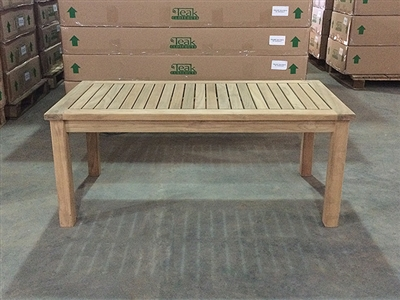 Ryan Teak Coffee Table 120x60cm
