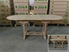 Maharani Oval Extension Teak Table 150 x 90cm - Extendable To 200cm