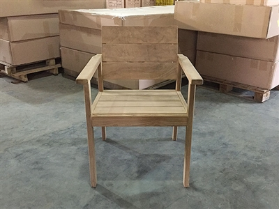 Teak Arm Chair - Seraya