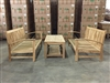 "Bromo Loveseat Set w/ Gili Coffee Table 24"" x 48"""