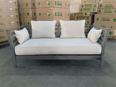Labuan Teak Deep Seating Sofa w/ Cushion