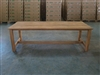 "S2DIO Teak Table #0002 - 240x93cm - 94"" x 37"""