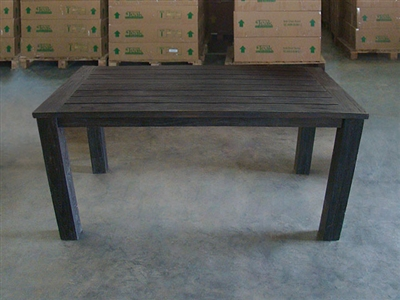 "S2DIO Teak Table #0004 - 160x90cm - 63"" x 35"""