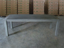 "S2DIO Teak Table #0016 - 240x100cm - 94"" x 40"""
