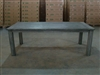"S2DIO Teak Table #0017 - 220x100cm - 87"" x 40"""