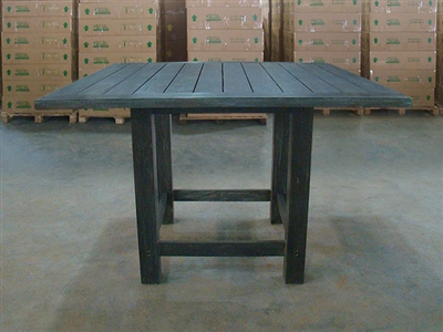 "S2DIO Teak Table #0024 - 152.5x152.5cm - 60"" x 60"""