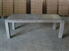 "S2DIO Teak Table #0025 - 220x100cm - 87"" x 40"""