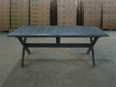 "S2DIO Teak Table #0054 - 200x100cm - 79"" x 40"""
