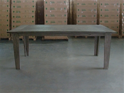"S2DIO Teak Table #0071 - 200x100cm - 79"" x 40"""