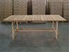 "S2DIO Teak Table #0101 - 220x100cm - 87"" x 40"""