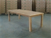 "S2DIO Teak Table #0108 - 230x100cm - 91"" x 40"""