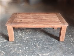 "S2DIO Teak Coffee Table #0022 - 135x75cm - 53"" x 30"""