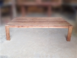"S2DIO Teak Coffee Table #0035 - 160x100cm - 63"" x 39"""
