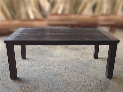 "S2DIO Teak Table #0039 - 200x100cm - 79"" x 40"""