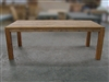 "S2DIO Teak Table #0049 - 220x100cm - 87"" x 40"""