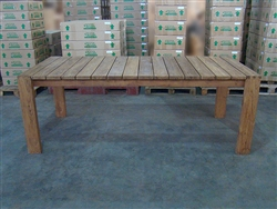 "S2DIO Teak Table #0057 - 217x100cm - 85"" x 40"""