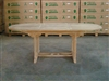 Aughrim Oval Extension Teak Table 150-210 x 90 cm