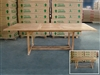 Kinvara Rectangle Extension Teak Table 180cm x 120cm - Extendable To 240cm
