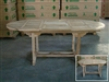 Louth Oval Extension Table 150cm Regular to 200cm x 100cm width