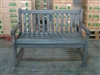 "120cm/48"" Roberto Teak Bench Special Finish Grey"