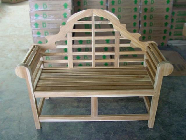 teak lutyen bench 137 - Teak Bench
