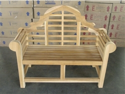 "Lutyen's 137cm/54"" Commercial Bench 4cm thickness"