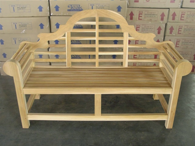 "Lutyen's 164cm/64"" Commercial Bench 4cm thickness"
