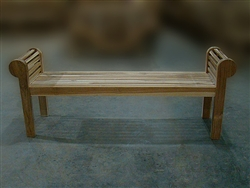 "180cm/71"" Lutyen Teak Backless Bench"