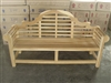 "Lutyen's 194cm/76"" Commercial Bench 4cm thickness"