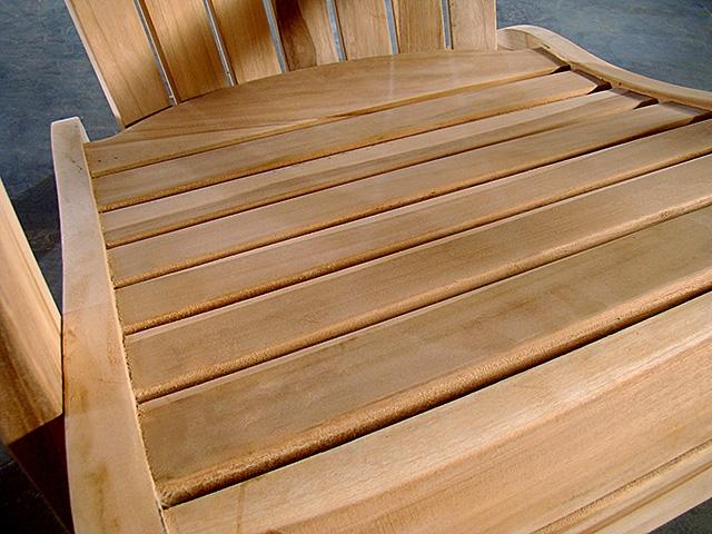 kentucky adirondack teak chair