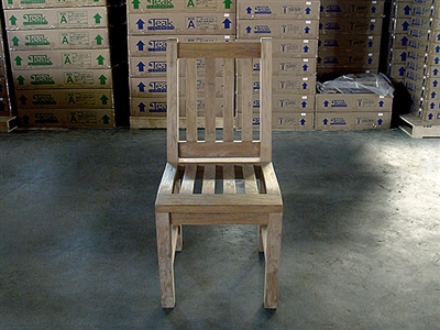 Teak Dining Chair - Fathergill (Rustic)