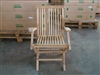Teak Folding Arm Chair - Shelia Big Sister Premium Version