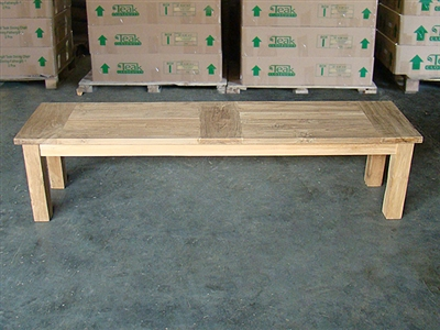 "170cm/67"" BG Teak Backless Bench"