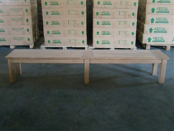 "240cm/94"" BG Teak Backless Bench"
