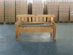 "170cm/67"" Mutt Recycle Teak Bench #0024"