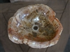 Petrified Wood Vanity Bowl/Sink #029