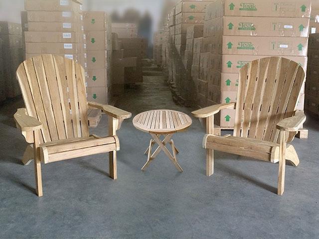 (2) Kentucky Teak Adirondack Chairs ...