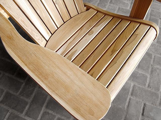 Teak Adirondack Chair Combo