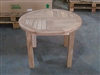 teak side table clara