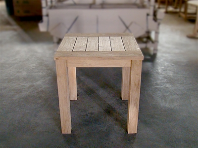 "Recycled Teak Table - 70x70 - 28"" x 28"""