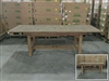 Eden Rectangle Double Extension Teak Table 180cm Regular to 240cm w/ Extension x 100cm Width
