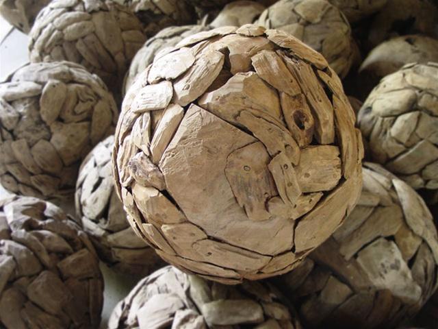 50cm 20 Teak Scrap Ball