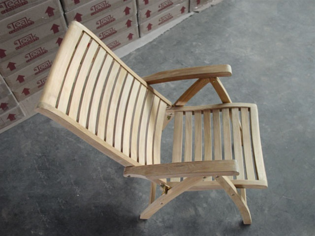 Buckingham Teak Reclining Chair