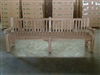 "240cm/94"" Oxley Teak Bench Special Finish White"