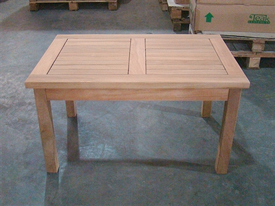 Bugel Teak Coffee Table 90x60cm