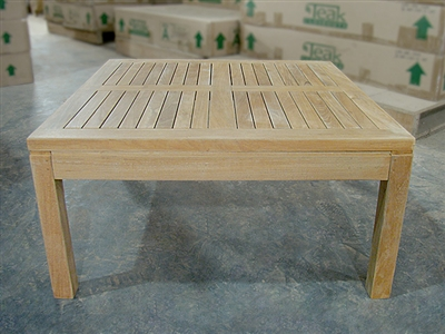Inch Teak Coffee Table - 80cm x 80cm