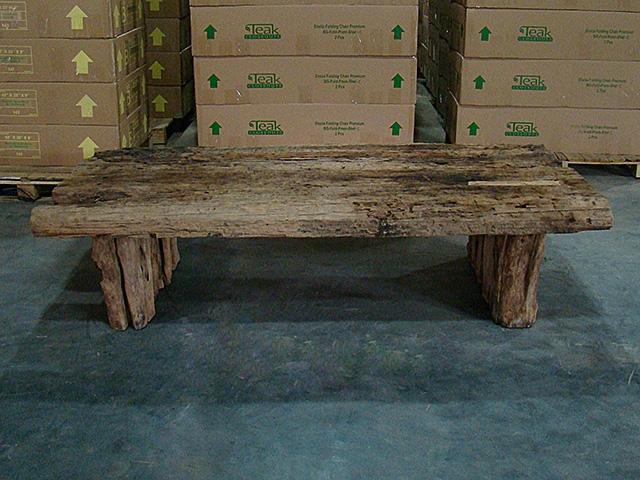 Ironwood Railroad Coffee Table