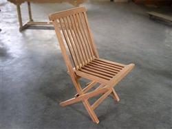 Charming ... Ballina Teak Folding Chair