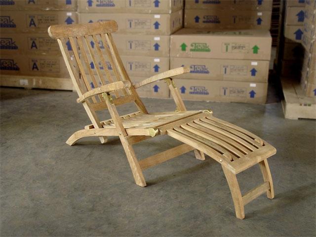 Ocean Teak Deck Chair (Steamer)